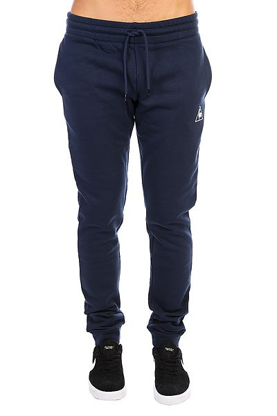 Штаны спортивные Le Coq Sportif Pant Bar Slim Brushed Dress Blue