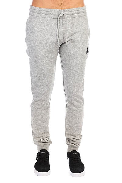 Фото #1: Штаны спортивные Le Coq Sportif Pant Bar Slim Unbr Light Heather Grey