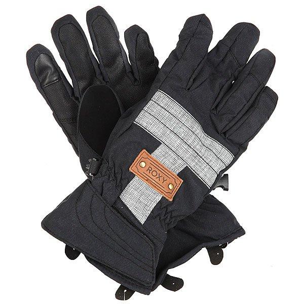 Перчатки сноубордические женские Roxy Vermont Gloves True BlackСноубордические перчатки из нейлоновой саржи с утеплителем.Технические характеристики: Нейлоновая саржа.Утеплитель 130 г.Мягкая трикотажная подкладка с начесом.Эластичные манжеты.Регулируемое запястье.Панель для протирки маски и вытирания носа на большом пальце.Эластичный лиш.<br><br>Цвет: черный<br>Тип: Перчатки сноубордические<br>Возраст: Взрослый<br>Пол: Женский