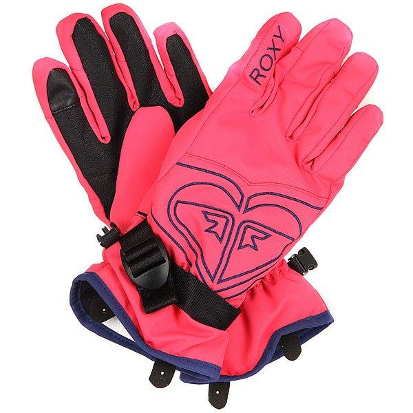 Перчатки сноубордические детские Roxy Popi Gir Glov Paradise Pink варежки сноубордические детские roxy jett gir mitt bright white hackney