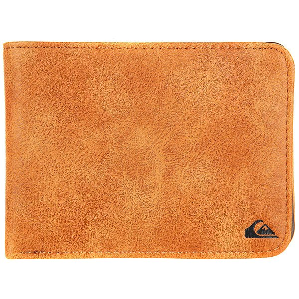 Кошелек Quiksilver Slimvintageii Wllt Cpy0 Tan Leather