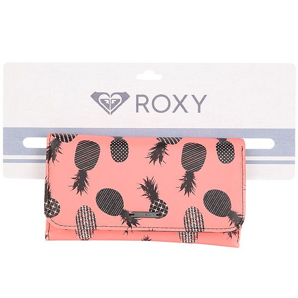 Кошелек женский Roxy My Long Eyes Ax Neon Grapefruit