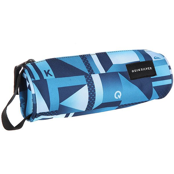 Пенал Quiksilver Pencil Print Blue Miror пенал quiksilver pencil print dreamweaver grey