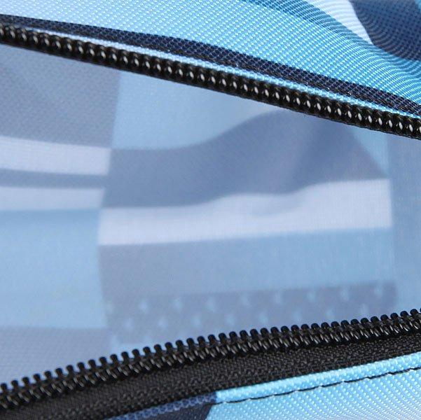 Пенал Quiksilver Pencil Print Blue Miror