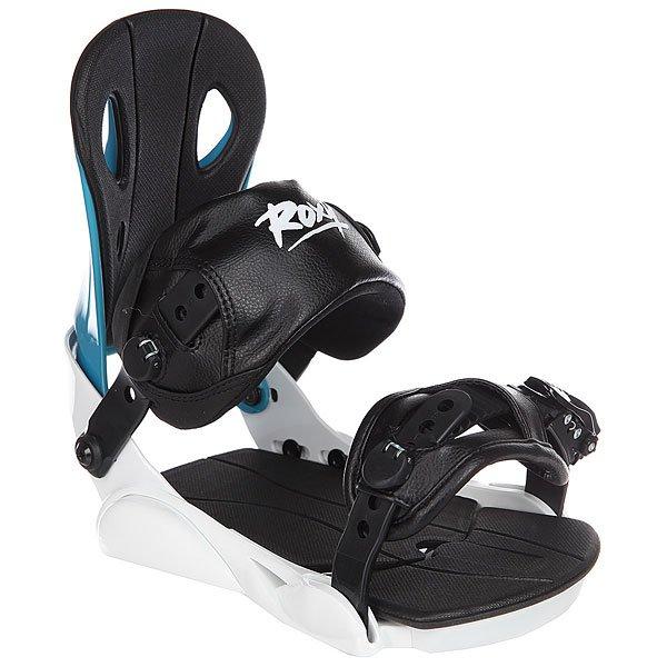 Крепления для сноуборда женские Roxy Classic Bind White женские ботинки promation bind x71744 d