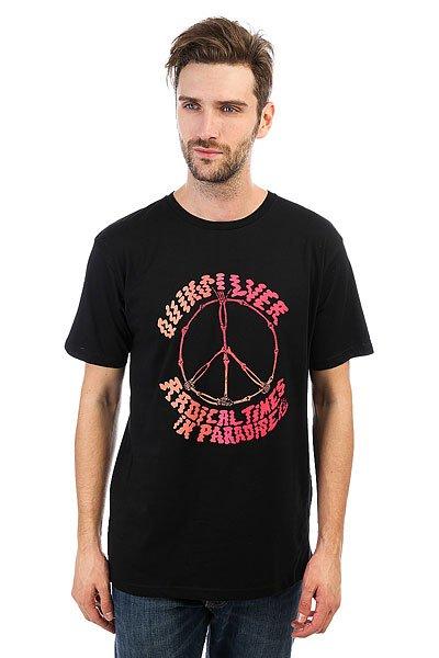 Футболка Quiksilver Peaceskull Black<br><br>Цвет: черный<br>Тип: Футболка<br>Возраст: Взрослый<br>Пол: Мужской