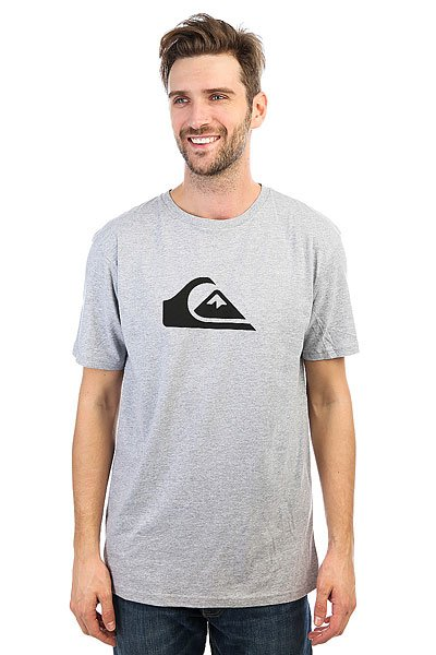 Футболка Quiksilver Everyday Athletic Heather штаны спортивные quiksilver everyday light grey heather