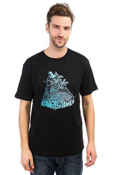 Футболка Quiksilver Crocoride Black футболка quiksilver paradise tees black
