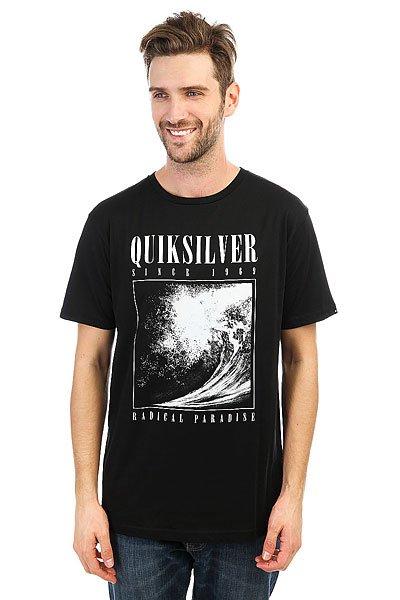 Футболка Quiksilver Bothsides Black<br><br>Цвет: черный<br>Тип: Футболка<br>Возраст: Взрослый<br>Пол: Мужской