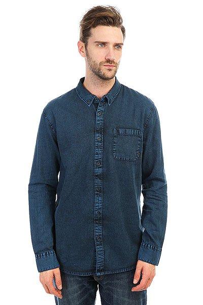 Рубашка Quiksilver Edenfoundls Vallarta Blue<br><br>Цвет: синий<br>Тип: Рубашка<br>Возраст: Взрослый<br>Пол: Мужской