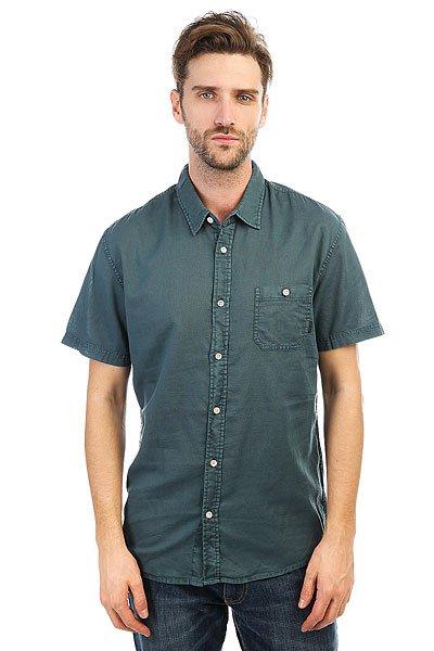 Рубашка Quiksilver Timebox Indian Teal<br><br>Цвет: синий<br>Тип: Рубашка<br>Возраст: Взрослый<br>Пол: Мужской