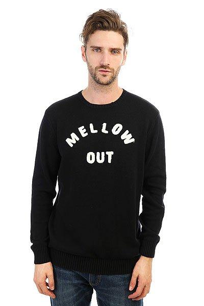 Джемпер Quiksilver Mellowoutsw Black<br><br>Цвет: черный<br>Тип: Джемпер<br>Возраст: Взрослый<br>Пол: Мужской