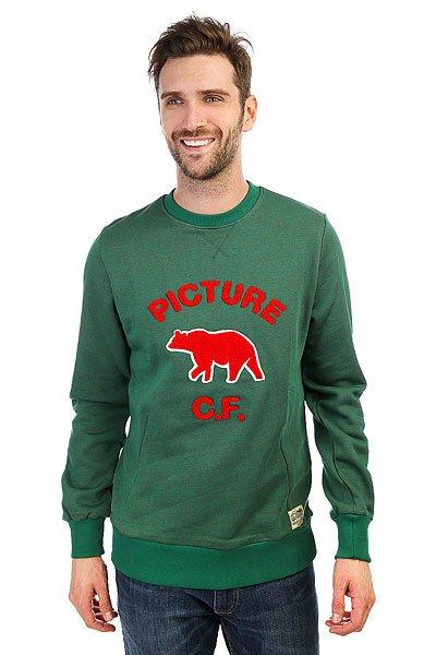 где купить Толстовка свитшот Picture Organic Hudson Green по лучшей цене