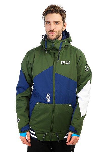 Фото Куртка утепленная Picture Organic College Khaki. Купить с доставкой