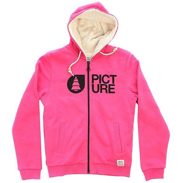 Толстовка утепленная детская Picture Organic Basement Plush Kids Pink<br><br>Цвет: розовый<br>Тип: Толстовка утепленная<br>Возраст: Детский