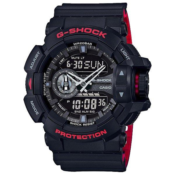 Кварцевые часы Casio G-shock 67579 Ga-400hr-1a Black электронные часы casio g shock ga 110pc 1a black light blue