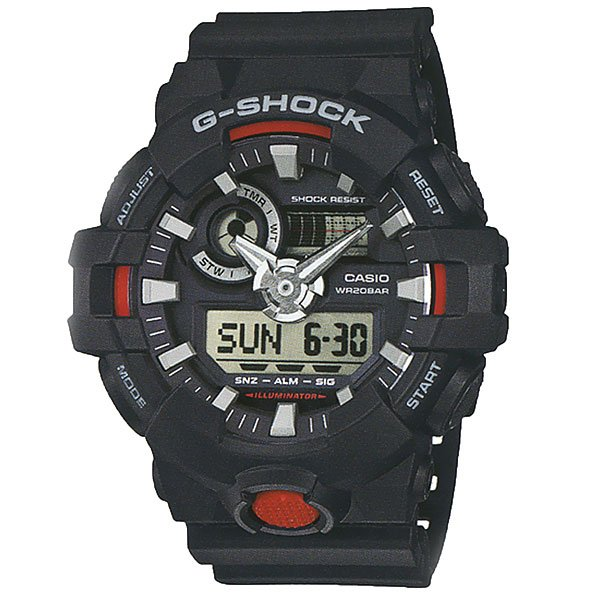 Кварцевые часы Casio G-shock 67580 Ga-700-1a casio g shock ga 100l 1a