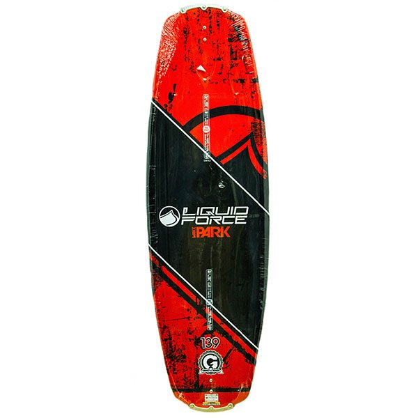 Вейкборд Liquid Force Wake Park Pro Board 139 Red/Black