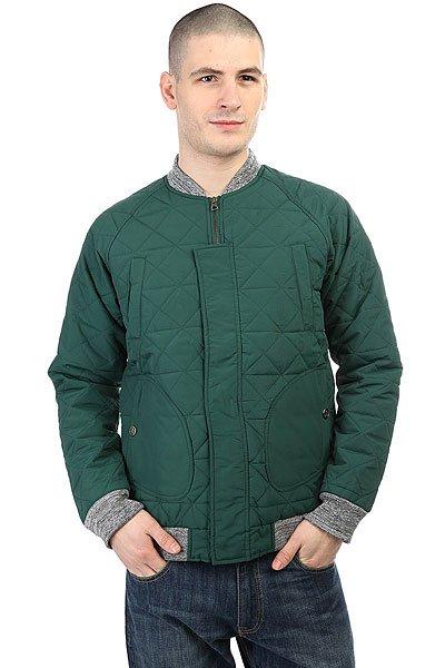 Бомбер Запорожец Fufaika Classic Dark GreenМужская стеганая куртка от российского бренда Запорожец.Технические характеристики: Плотная нейлоновая ткань.Трикотажный воротник, манжеты и подол в стиле куртки-бомбер.Нагрудные карманы и карманы для рук, потайной карман.Оригинальный крой с рукавами-реглан.<br><br>Цвет: зеленый<br>Тип: Бомбер<br>Возраст: Взрослый<br>Пол: Мужской