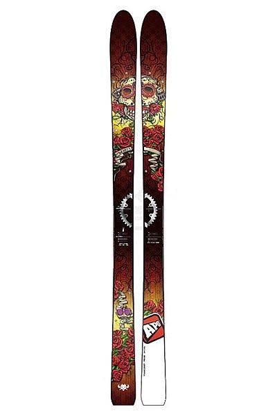 Горные лыжи Apo Wyatt 183 MultiАбсолютное оружие для фрирайда, Wyatt является синонимом свободы! На трассе, по бездорожью или в снегу они впечатлят вас своей стабильностью.Технические характеристики: Сердечник Omega из двух видов тополя для большей прочности, динамичности и стабильности.Конструкция 2D Torsion Box имеет легкий вес и экономит силы лыжника.4 слоя стекловолокна делают лыжи более прочными.Скользяк Sintered 4000/Stone Grind - лучшее скольжение на мокром снегу.Боковины Slanted из пластика ABS.Прогиб - классический кэмбер.Для профессионалов.<br><br>Цвет: мультиколор<br>Тип: Горные лыжи<br>Возраст: Взрослый<br>Пол: Мужской