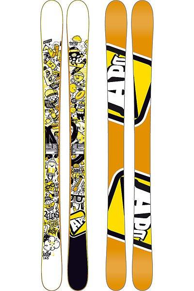 Горные лыжи детские Apo Justin 135 Orange от Proskater