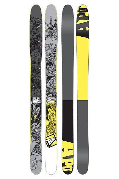 Горные лыжи Apo Ron 181 Grey/Yellow от Proskater