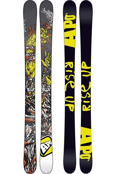 Горные лыжи детские Apo Sammy C Kid 105 Black/YellowДетские лыжи с супер гладким сердечником C2 Smooth для начинающих райдеров, которые помогут усовершенствовать трюки!Технические характеристики: Сердечник C2 Smooth - прочный и гладкий сердечник для гарантированного контроля.Двойное стекловолокно 2D Dual  - точность, баланс и легкий вес.Быстрый и простой в уходе скользяк Extruded/Stone Grind - лучшее скольжение на мокром снегу.Прогиб - классический кэмбер и рокер по краям.Уровень катания - начальный, продвинутый.<br><br>Цвет: черный,желтый<br>Тип: Горные лыжи<br>Возраст: Детский