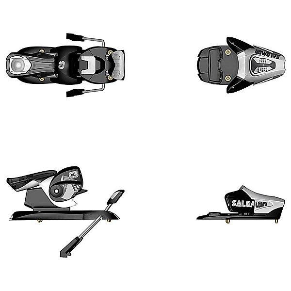 Крепления для лыж Salomon N C5 Easytrak B85 Black/WhiteЛегкие детские горнолыжные крепления.Технические характеристики: Усилие срабатывания креплений: 0.5-4.5.Съемный тормоз.Эластичная педаль.Высота 14 мм.Диапазон регулирования 44 мм.Вес лыжника 10-45 кг.Автоматическая регулировка губок в момент встегивания ботинка.Автоматическая регулировка головки по ширине и высоте ботинка - обеспечивает точное срабатывание креплений при износе ботинок, исключает возможность ошибок.Вес креплений 1122 гр.<br><br>Цвет: черный,серый<br>Тип: Крепления для лыж<br>Возраст: Взрослый<br>Пол: Мужской