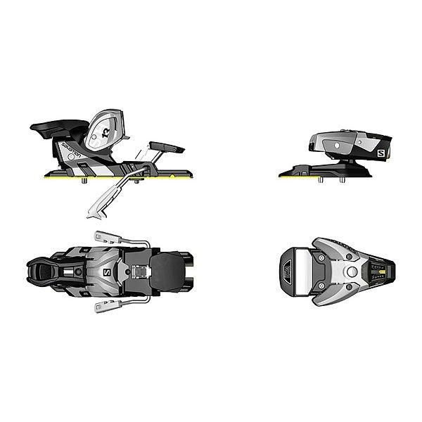 Крепления для лыж Salomon Nsth2 Wtr 13 C115 Silver/BlackНовые крепления в 3D формате, обновленная версия для современных моделей лыж.Технические характеристики: Усилие срабатывания DIN: 5-13/5.Высота 24 мм.Вес лыжника 50-125 кг.Диапазон регулировки 28 мм.Вес одного крепления 1145 гр.<br><br>Цвет: черный,серый<br>Тип: Крепления для лыж<br>Возраст: Взрослый<br>Пол: Мужской
