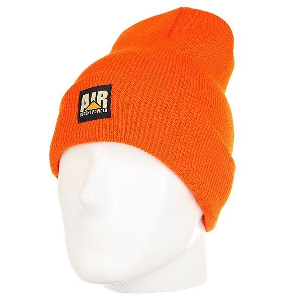 Шапка носок Airblaster Lunchbreak Beanie Orange<br><br>Цвет: оранжевый<br>Тип: Шапка носок<br>Возраст: Взрослый<br>Пол: Мужской