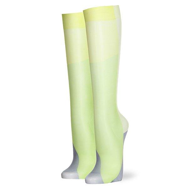 Носки высокие женские Stance Simmons Yellow над коленом бедро высокие носки хлопка чулки леггинсы женские женщины девушки