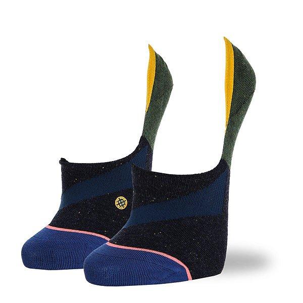 Носки низкие женские Stance Navy Stripe Black<br><br>Цвет: зеленый,синий,голубой<br>Тип: Носки низкие<br>Возраст: Взрослый<br>Пол: Женский