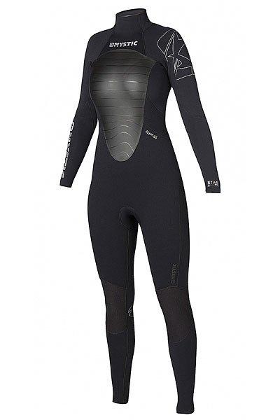 Гидрокостюм (Комбинезон) женский Mystic Star 3/2 D/L Fullsuit BlackДлинный гидрокостюм для женщин обеспечит комфорт при занятиях экстремальными видами водного спорта в теплую погоду. Стильный дизайн, есть удобный карман для ключей. Оптимальная модель как по цене, так и по своим характеристикам. Характеристики:Толщина неопрена: 3/2 мм.Проклеенные швы GBS (Glue Blind Stitched)– панели склеиваются и прострачиваются наполовину, а не насквозь, что делает их водонепроницаемыми.Неопрен M-Flex 50% - самый тянущийся неопрен в линейке. Используемая технология перекрестного плетения позволяет тянуться во всех направлениях. Мягкий, приятен коже. Тёплая подкладка в районе груди и спины.Эргономичные вставки на коленях, тянущиеся в 4-х направлениях. Плоские швы. Карман для ключей. Молния на спине. Двойная конструкция воротника.Мягкие липучки внизу штанин для фиксации.<br><br>Цвет: черный,серый<br>Тип: Гидрокостюм (Комбинезон)<br>Возраст: Взрослый<br>Пол: Женский