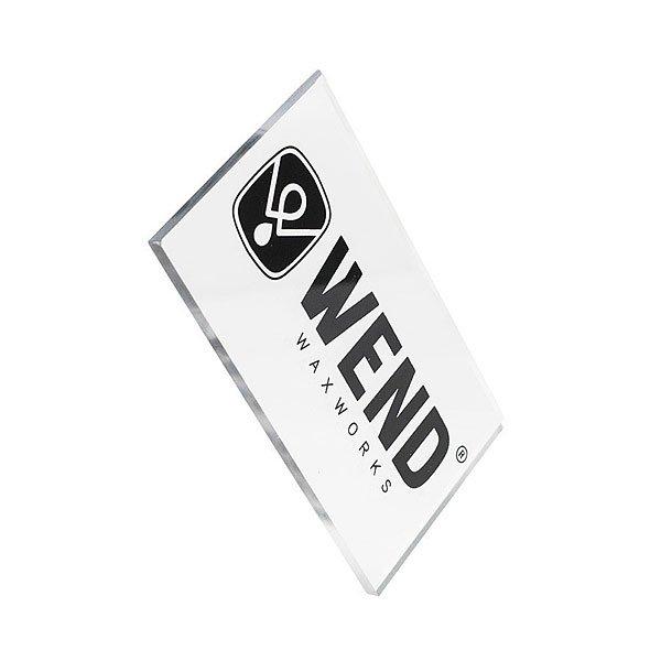 Скребок Для Парафина Wend Scraper 6 Mm White/Black