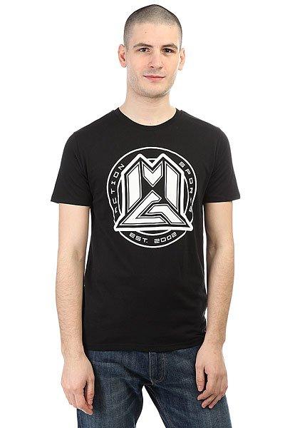 Футболка MGP Circle Black/White