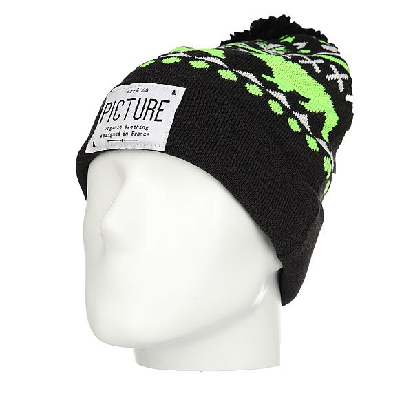 Шапка Picture Organic Racoon Beanie Black