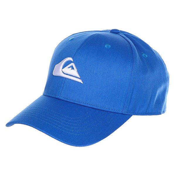 Бейсболка классическая Quiksilver Decades Imperial Blue<br><br>Цвет: синий<br>Тип: Бейсболка классическая<br>Возраст: Взрослый