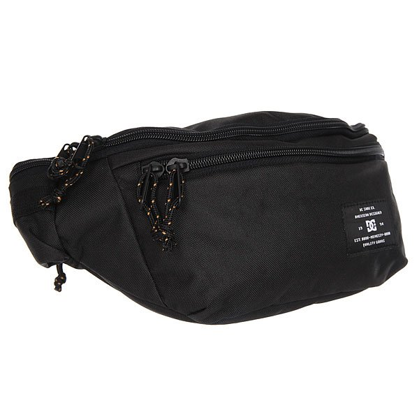 Сумка поясная DC Shoes Waistpack Black