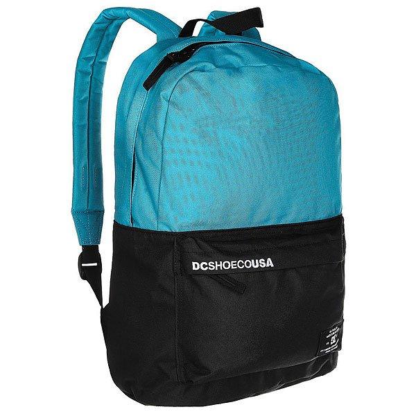 Рюкзак городской DC Bunker Cb Blue MoonКомпактный городской рюкзак с отсеком для ноутбука не обременит Вас множеством отсеков и кармашков, предоставляя единое вместительное пространство для самых необходимых вещей и небольшой внешний карман для мелочей. Классический силуэт, универсальный дизайн и стильная графика позволят DC Bunker стать отличным дополнением к городскому луку.Характеристики:Ручка для переноски. Мягкие регулируемые лямки. Внешний карман на молнии со встроенным органайзером.Отсек для ноутбука. Единый основной отсек на молнии. Нашивка с фирменным логотипом на внешнем кармане.<br><br>Цвет: синий,зеленый<br>Тип: Рюкзак городской<br>Возраст: Взрослый