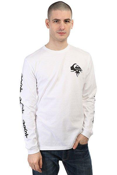 Лонгслив Quiksilver Bornthornylstee White<br><br>Цвет: белый<br>Тип: Лонгслив<br>Возраст: Взрослый<br>Пол: Мужской