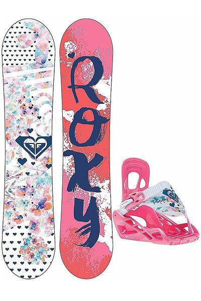 Сноуборд женский Roxy Poppy 128 Package Multicolor