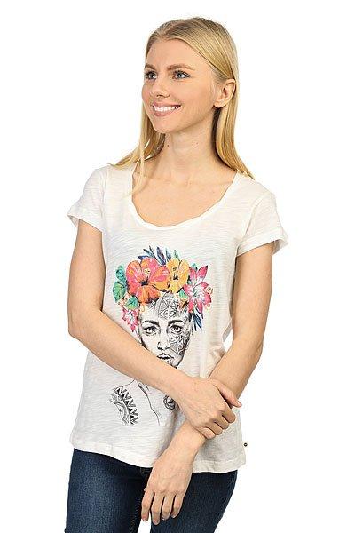 Футболка женская Roxy Bobby Twist Russia Marshmellow<br><br>Цвет: бежевый<br>Тип: Футболка<br>Возраст: Взрослый<br>Пол: Женский