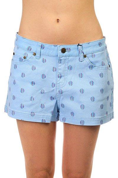шорты-классиче-ские-же-нские-insight-hokey-pokey-shorts-congo-blue