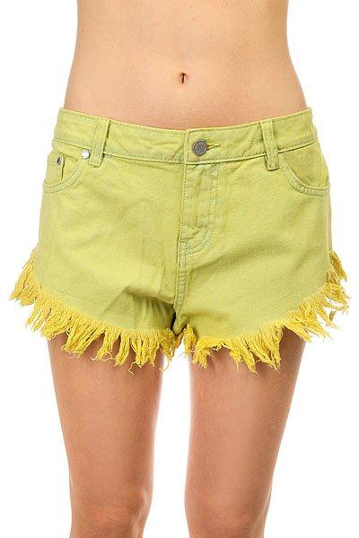 купить Шорты джинсовые женские Insight Dipper Shorts Citrine по цене 6270 рублей