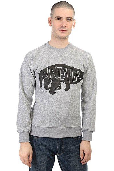 Толстовка свитшот Anteater Crewneck Hhme Grey<br><br>Цвет: серый<br>Тип: Толстовка свитшот<br>Возраст: Взрослый<br>Пол: Мужской
