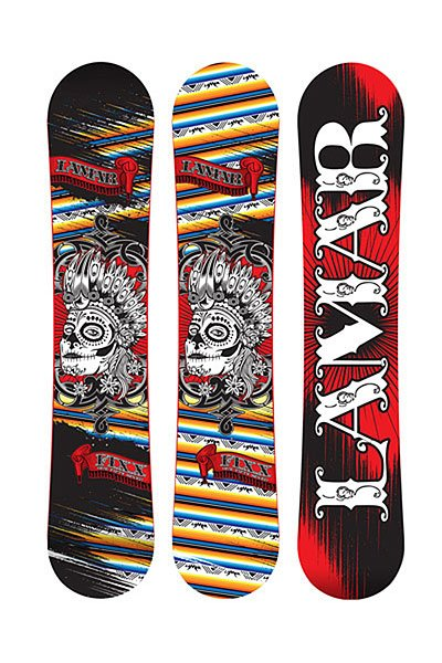 Сноуборд Lamar Fixx Anti Cam Sidewall 158 Assorted