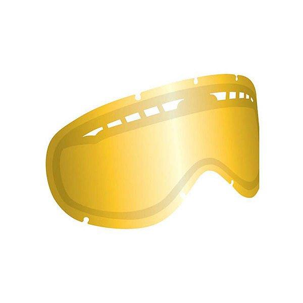 Линза для маски Dragon Dxs Rpl Lens Gold IonСлегка уменьшенная копия Dragon Dx. Линзы Dxs с усиленной системой вентиляции подходят для тех, кто предпочитает более компактные маски. Линзы изготовлены из пластичного материала Лексана, который при ударе не образует острых осколков, сохраняя Ваши глаза в безопасности при любых условиях.Технические характеристики: Прочные и одновременно гибкие линзы из лексана.Система вентиляции, препятствующая запотеванию.100% защита от ультрафиолета.Устойчивое к царапинам покрытие.Технология Super Anti-Fog.Светопропускная способность - 31% - 36%.Лучше всего подходит для яркого солнца, добавляет четкости и защищает от яркого света.<br><br>Цвет: желтый<br>Тип: Линза для маски<br>Возраст: Взрослый<br>Пол: Мужской