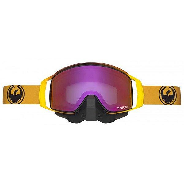 Маска для сноуборда Dragon Nfx2 Burn/Purple Ion Rose)