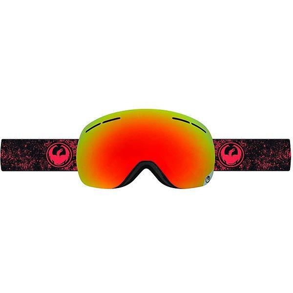 Маска для сноуборда Dragon X1s Energy Scarlet/Red Ion Yellow Blue Ion