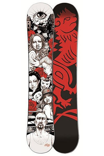 Сноуборд Imperivm Chikana Love 159 Black/Red/White<br><br>Цвет: черный,красный,белый<br>Тип: Сноуборд<br>Возраст: Взрослый<br>Пол: Мужской